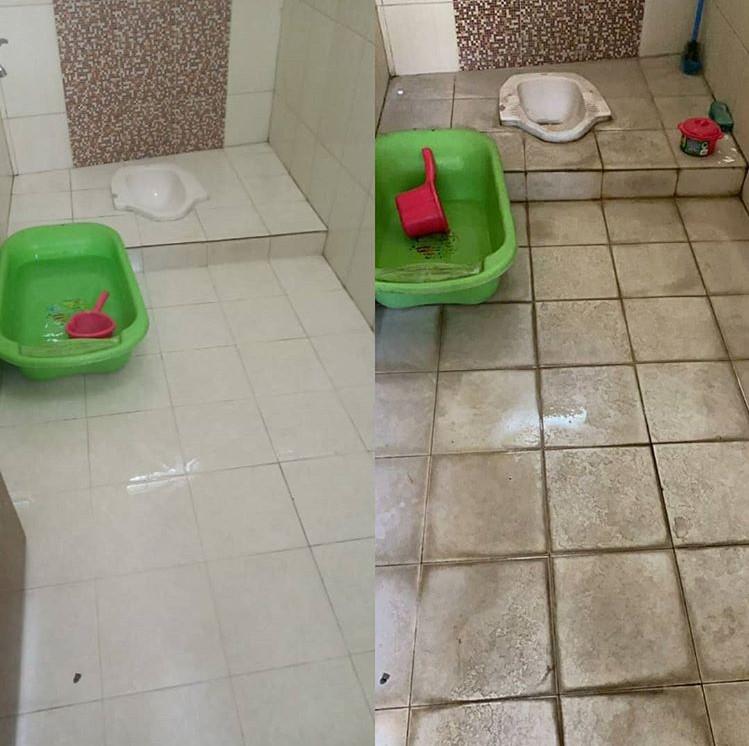 jasa membersihkan kamar mandi tangerang